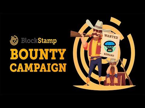 🔴JÁ LISTADO EM EXCHANGE🔴 Bounty BlockStamp (Ganhe 60Mil satoshi GRÁTIS) ! LIMITADO.