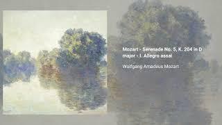 Serenade no. 5 in D major, K. 204/213a
