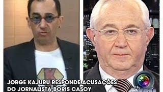Kajuru Chama Boris Casoy De Pedófilo!!