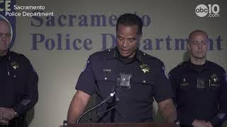 Sacramento Police Department release body cam footage of ambush attack on Sacramento Police Officer