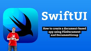 How to create a document-based app using FileDocument and DocumentGroup – SwiftUI