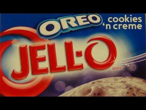 Video Jello OREO [Instant Pudding]