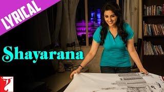 Lyrical: Shayarana Song with Lyrics | Daawat-e-Ishq | Aditya