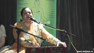Qawwali Dum Must Kalander by Anandita Basu in Moscow, Russia - Каввали Дам Маст Каландер
