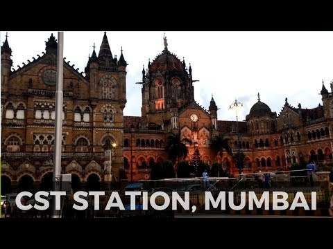 Mumbai Chhatrapati Shivaji Terminus (CST) railway station - Most Beautiful Railway Station in India