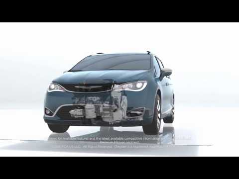 NEW 2017 CHRYSLER PACIFICA HYBRID - Los Angeles, Cerritos, Downey CA - Special Deals