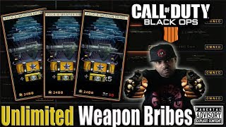 Footsteps are TOO LOUD in MODERN WARFARE...Back to BLACK OPS 4 | Unlimited WEAPON BRIBES