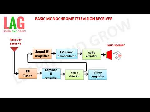 BASIC MONOCHROME TELEVISION RECEIVER (हिन्दी )!LEARN AND GROW