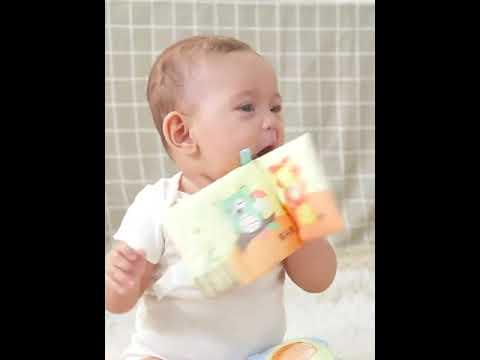 Baby Tuch Buch Frühes Pädagogisches Spielbuch