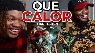 FIRST LISTEN 👀 | Major Lazer   Que Calor (feat. J Balvin & El Alfa)
