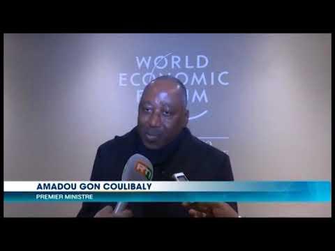 OUVERTURE OFFICIELLE DU FORUM ECONOMIQUE MONDIAL DE DAVOS