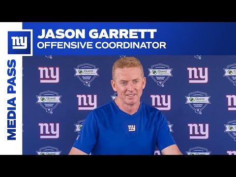 Jason Garrett on Daniel Jones' Smart Decision Making   New York Giants