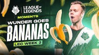 LEC : le highlight et Voicecomms de la semaine 2 des G2 Esports