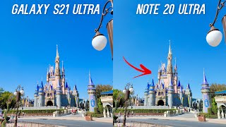 Galaxy S21 Ultra vs Note 20 Ultra Camera Test Comparison After Updates