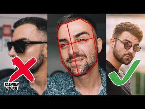 Welche Brille steht mir? Brillen und Gesichtsformen Guide für Männer! (Infografik)