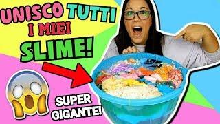 UNISCO TUTTI I MIEI SLIME! PIU' DI 100! (SUPER SLIME GIGANTE) Iolanda Sweets