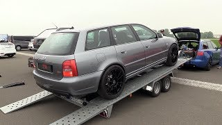 1200HP Audi S4 B5 FROM HELL!! BRUTAL 0-311 KM/H ACCELERATION!