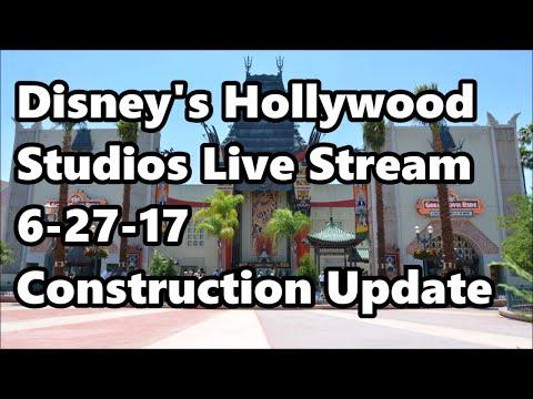 Disney's Hollywood Studios Live Stream 6-27-17 - Construction Updates | Walt Disney World