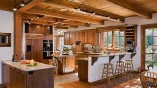 Gallery Of Riverbend Timber Frame Home Kitchens