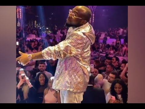 """Davido & Lil Frosh Scatter Dubai With An INCREDIBLE Performance of """"Blow My Mind"""" & 'Risky"""""""