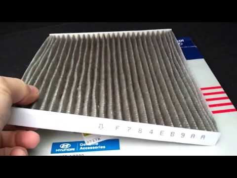 cabin air filter replacement hyundai santa fe 2013 car fix diy videos. Black Bedroom Furniture Sets. Home Design Ideas