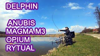 Wędki Delphin Anubis, Magma M3, Opium, Rytual
