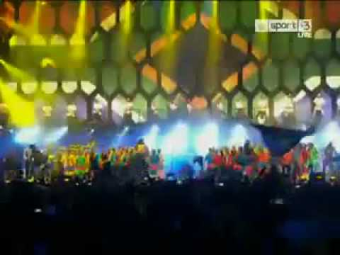Shakira - Waka Waka (Time for Africa) (2010 Fifa World Cup Song) Opening ceremony.flv