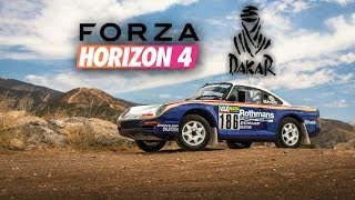 Forza Horizon 4 | Rally Paris-Dakar + Prueba del nuevo Porsche 959 en nieve.