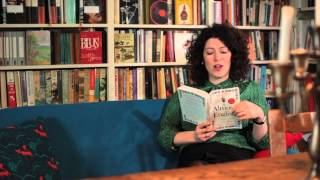 Charlotte Mendelson reading Almost English