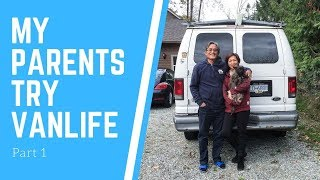 My Parents Try Vanlife!