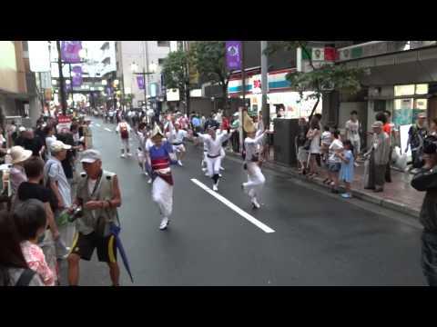 炎士(高円寺)/中央会場・流し/第1回小岩阿波踊り2014