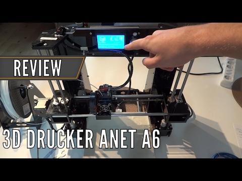 Anet A6: Tipps zum 3D Drucker & Vergleich mit Anet A8 // Test | China-Gadgets