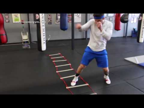 Boxing Footwork Drills for Creating Angles - YouTube