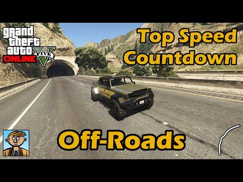 Fastest Off-Road Vehicles (2018) - GTA 5 Best Fully Upgraded Cars Top Speed Countdown