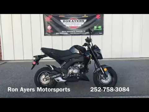 2018 Kawasaki Z125 Pro in Greenville, North Carolina