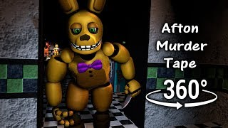 360°  Afton Murder Tape 1986 - Five Nights at Freddy