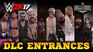 WWE 2K17 PC: Hall of Fame Showcase DLC Entrances! Albert, Ivory, Jacqueline & more!