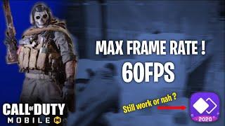 HOW TO UNLOCK MAX 60FPS | COD MOBILE SEASON 12 | QIHOO MAGIC 2020 [Nikto COD]