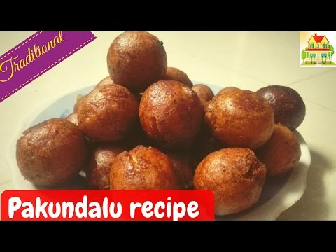 PAKUNDALU RECIPE IN TELUGU || పాకుండలు || TRADITIONAL RECIPES || MANA ILLU