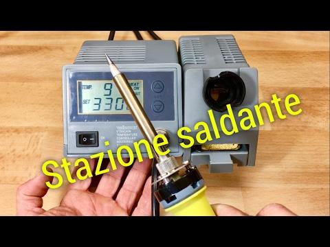 welleman vtssc40n stazione saldante soldering station recensione review