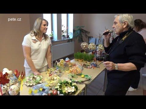 Velikonoční jarmark v Domově seniorů v Prčici