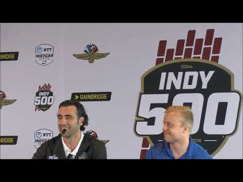 2019 Indy 500 Franchitti and Rosenqvist Q&A
