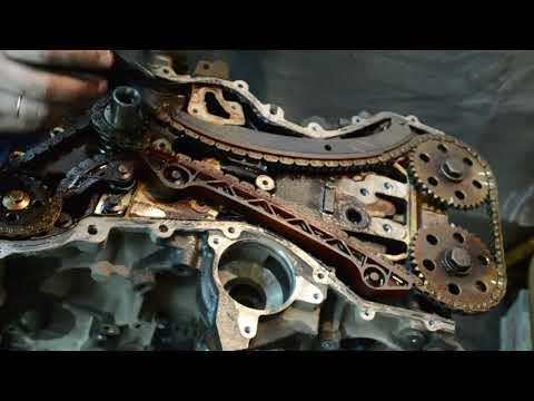 Разбор двигателя Форд 2.0 aoda