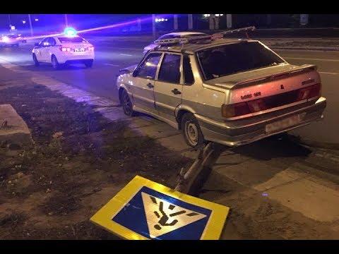 Нетрезвый водитель пытался свести счёты с жизнью на дорогах города Тольятти