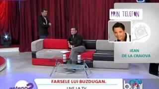 Daniel Buzdugan farsa in direct lui Jean de la Craiova