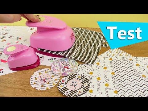 Neuer Stanzer im Test | Coole Einhorn Weihnachts Sticker selber machen | DIY Idee Advent