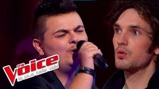 Queen – Don't Stop Me Now | Baptiste Defromont VS Claude Schuh | The Voice France 2013 | Battle
