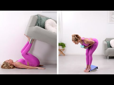 Turn Your Home Into a Personal Gym With These Hacks!