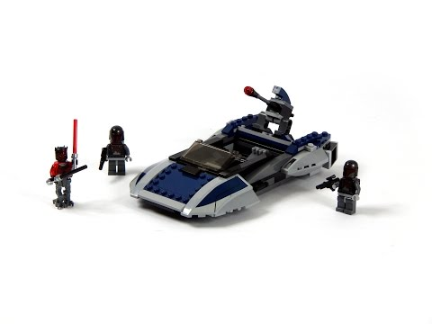 Vidéo LEGO Star Wars 75022 : Speeder Mandalorian