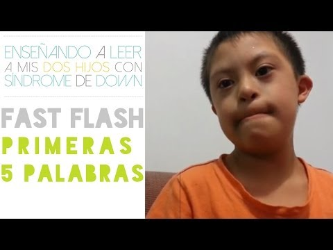 Watch video Síndrome de Down: Enseña a leer con Lectura Rápida (Fast Flash)